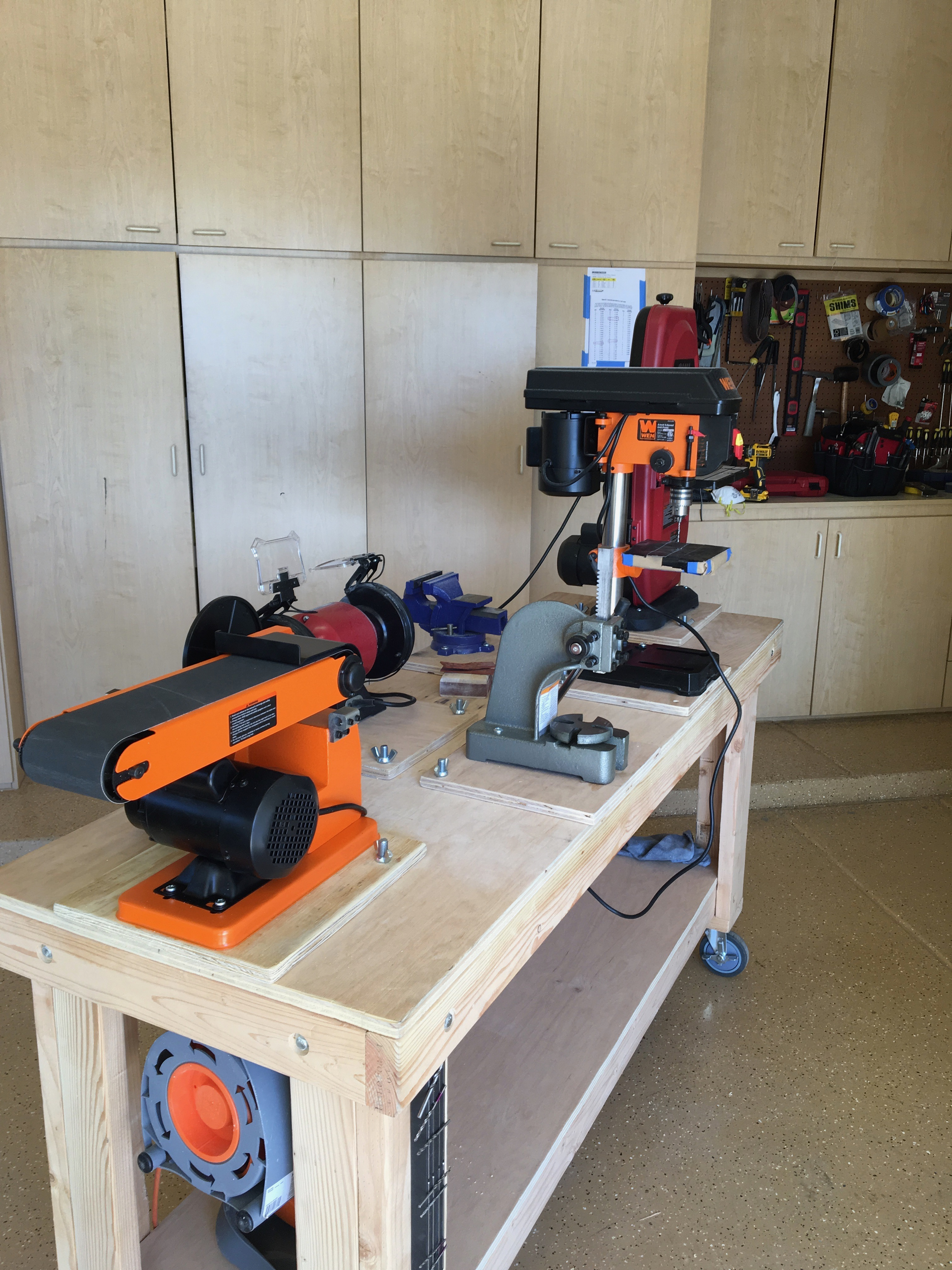 Upgraded workbench